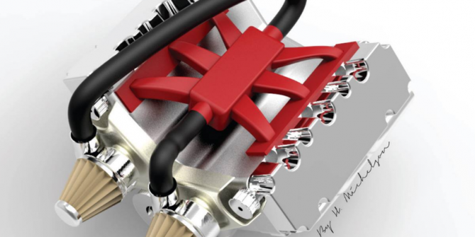 Car engine advanced assembly-1