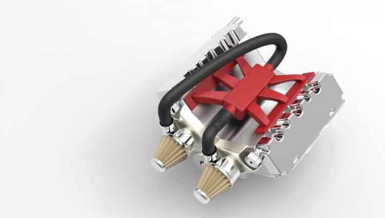 Car engine advanced assembly-5