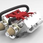 Car engine advanced assembly-6