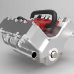 Car engine advanced assembly-9